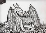 Dragon vs Griffin