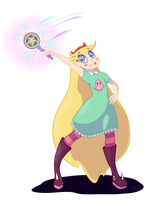 Star vs the Forces of Evil by bloodthirstyKitten