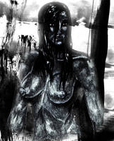 Gothic girl 2 by Glaubart