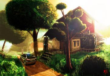 Countryside by Glaubart