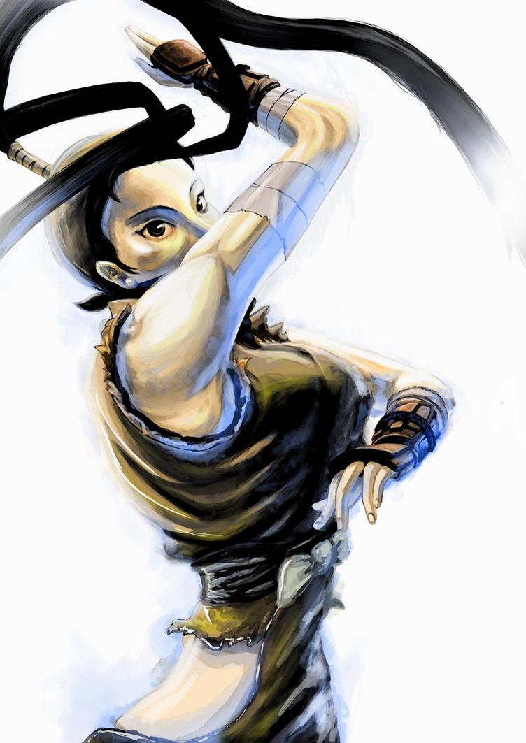 Ibuki - Street Fighter vs Tekken by Glaubart