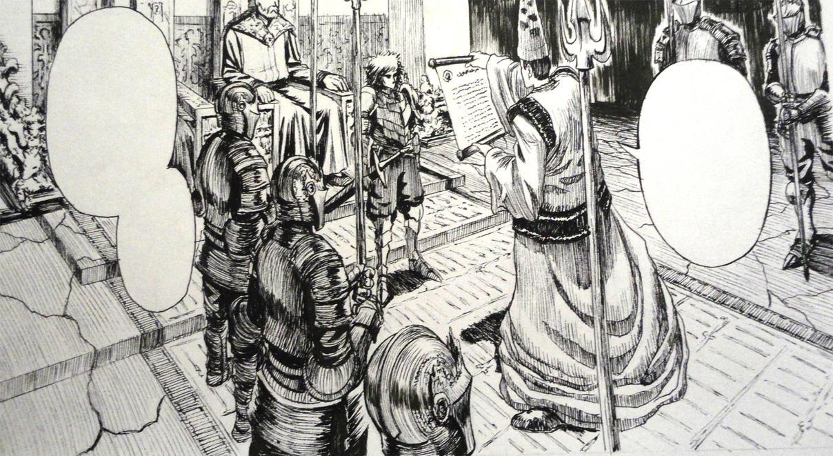 Louis De Dampierre Manga6 by Glaubart