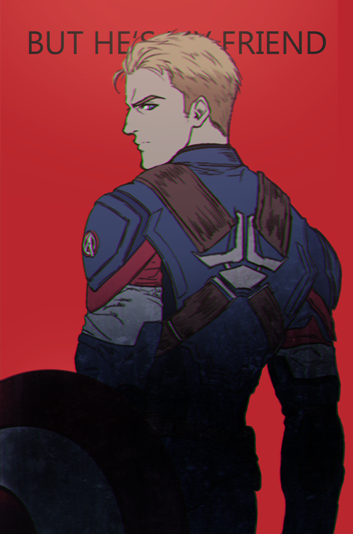 Capt America - Civil War by Sined-Style