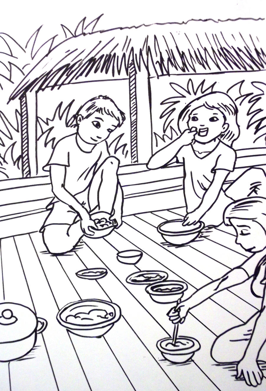 thailand coloring pages - photo#4