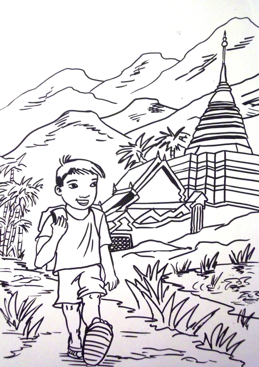 thailand coloring pages - photo#10