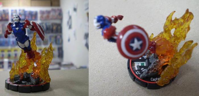 Custom Capt. America Iron Man