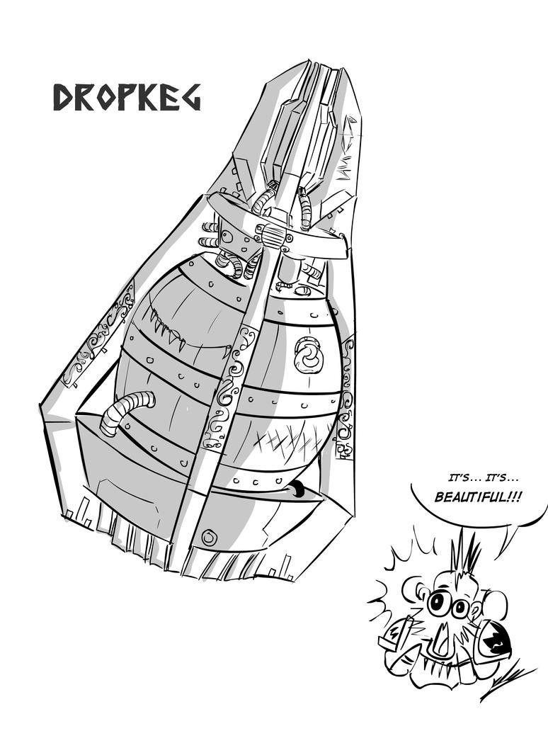 DropKeg by RipperSplitter
