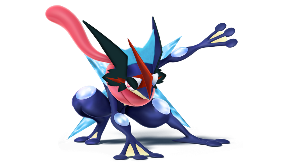 Welcome our new Artist Ash_s_greninja__super_smash_bros_wii_u___shuriken__by_twin_gamer-da4enst