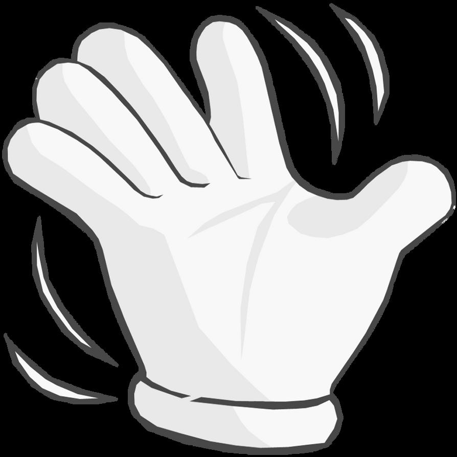 hand waving drawing - 989×984