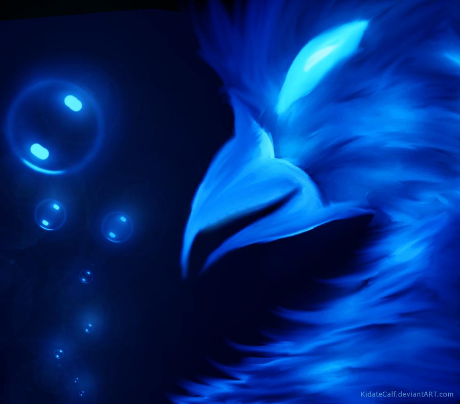 Blue Hen by KidateCalf