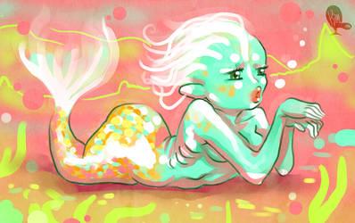 Mermaid bubble