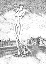 Amberle Elessedil by MorganCygnus