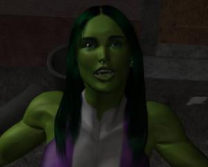 Tigra and She-hulk by night 25
