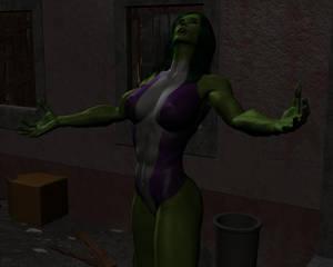 Tigra and She-hulk by night 26