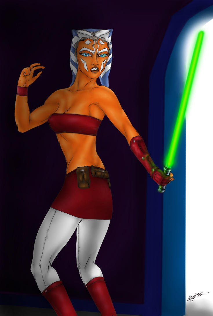 Ahsoka by MorganCygnus