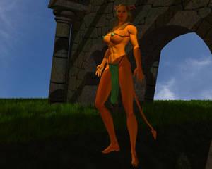Aesion, demoness of power 04