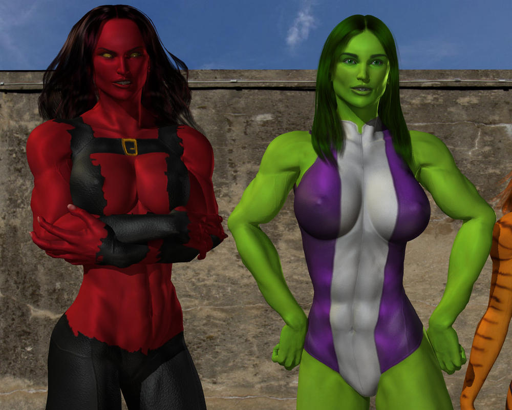 Displaying 17> Images For - Marvel Tigra Transformation...