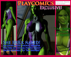 EXCLUSIVE - SHE HULK NAKED