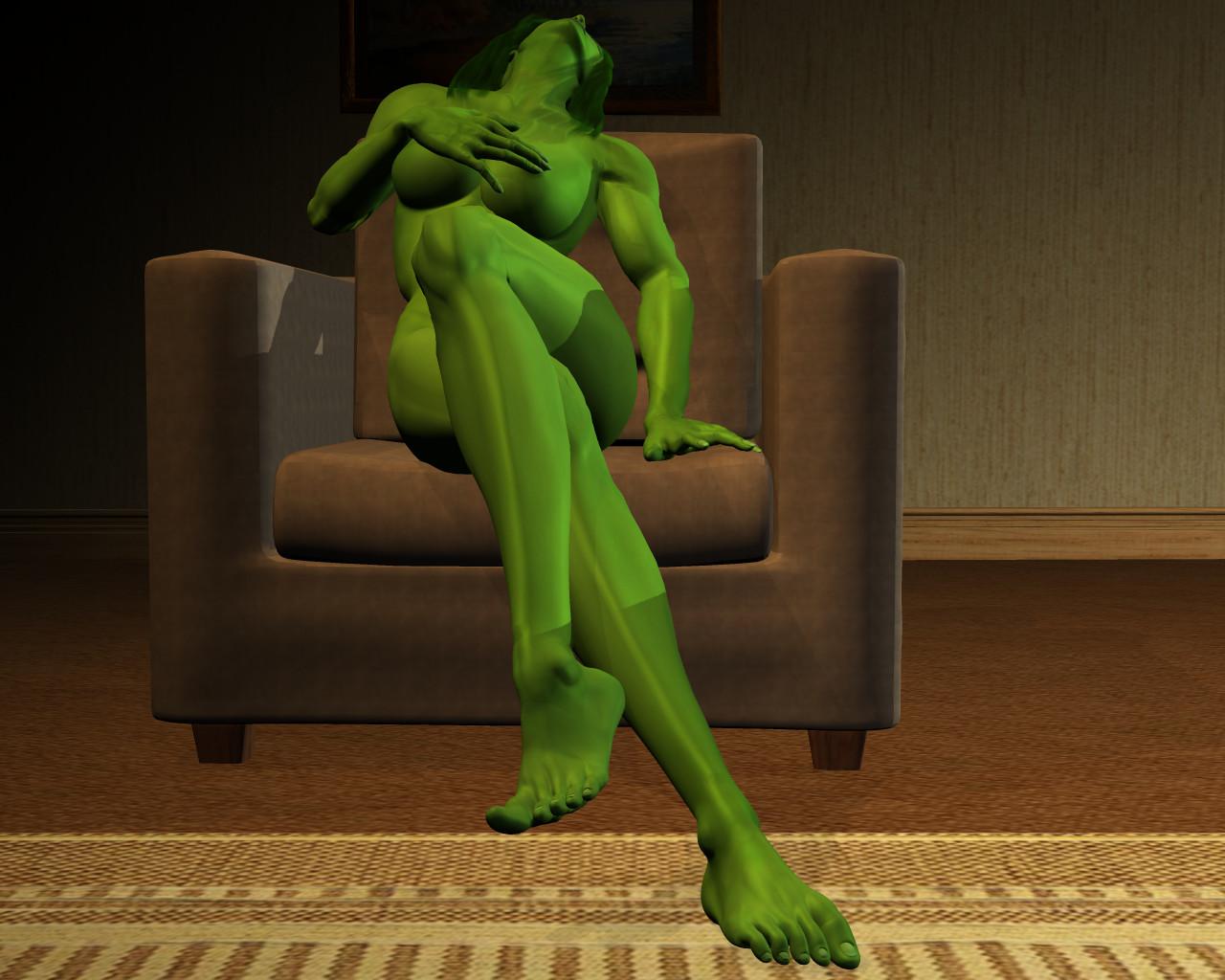 She hulk - Exclusive 43 by MorganCygnus