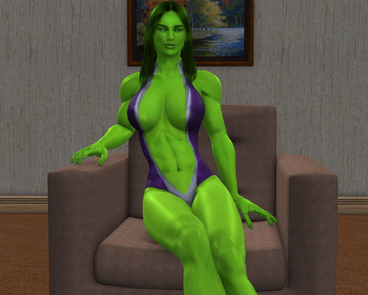 Vueskin Rendered She Hulk Mancygnus