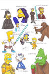 Simpson - Star wars