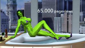 65000 Pageviews
