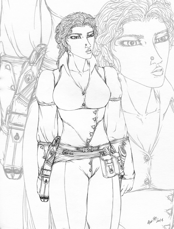 Anna DeGrimorio - Steampunk adventurer