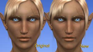 Modifiche al volto A fronte
