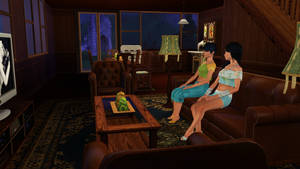 Meanwhile in the Sims 3... (4)