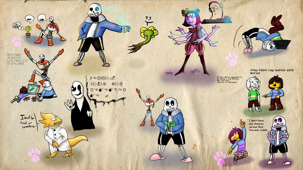 Undertale Doodles Requests By BIacat On DeviantArt