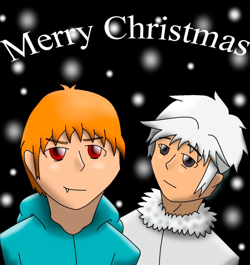 Secret Ranger:Kyo and Hatsuharu by AmyNChan