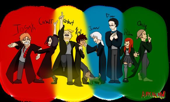 Circle Unbroken in Hogwarts