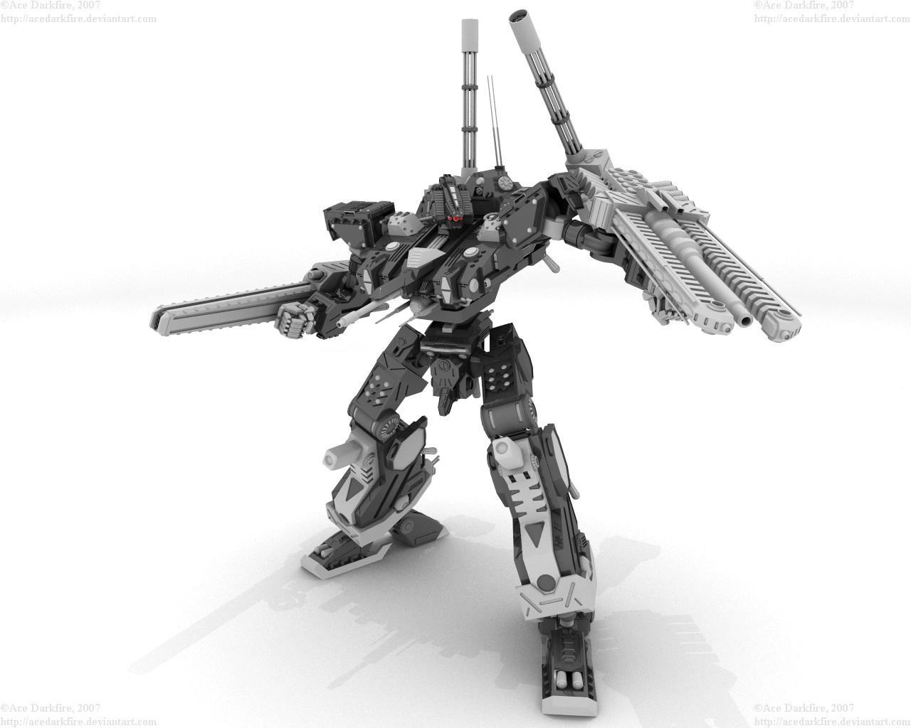BattleSmith in Focus by AceDarkfire
