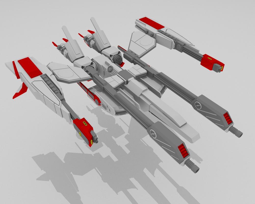 VX-1660 Nightmare W.I.P 3 by AceDarkfire