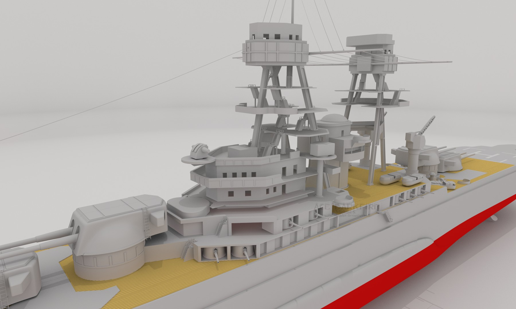 W.i.P5: Heavy Cruiser by AceDarkfire