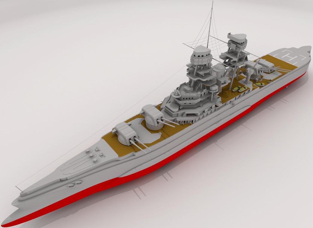 W.i.P6: Heavy Cruiser by AceDarkfire