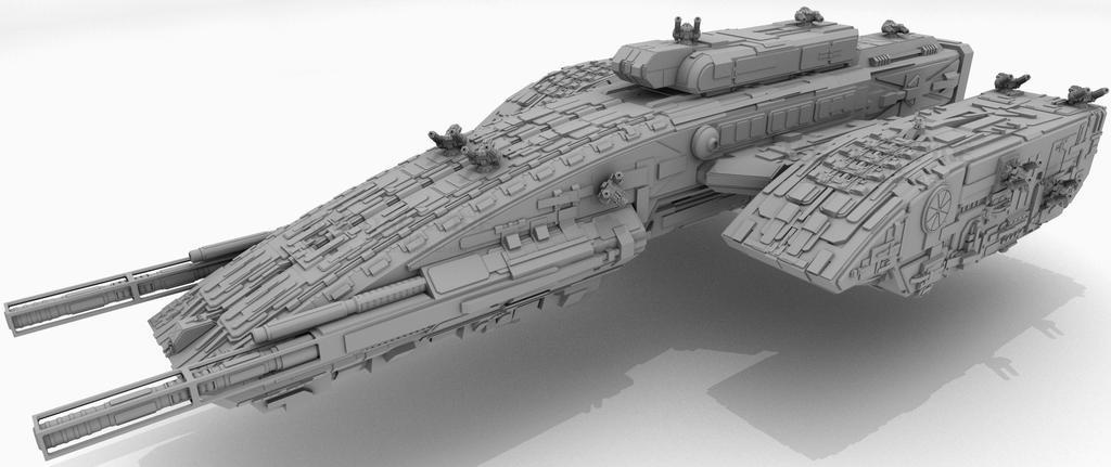 Enforcer-class FF in Focus by AceDarkfire