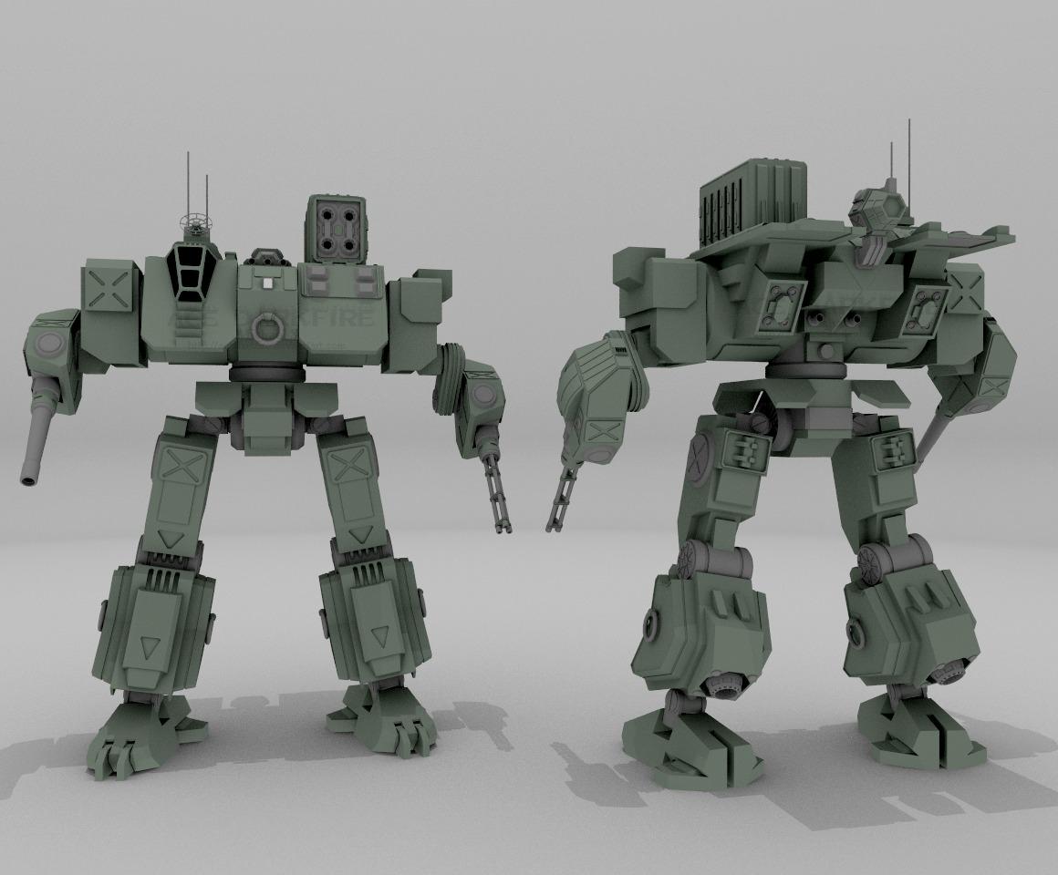 HD-195A Hound by AceDarkfire
