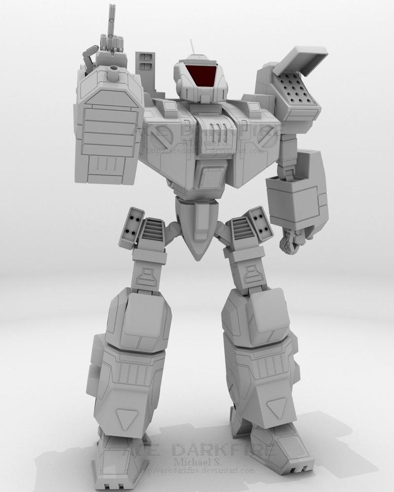 CRD-3D Crusader - Image 2 by AceDarkfire
