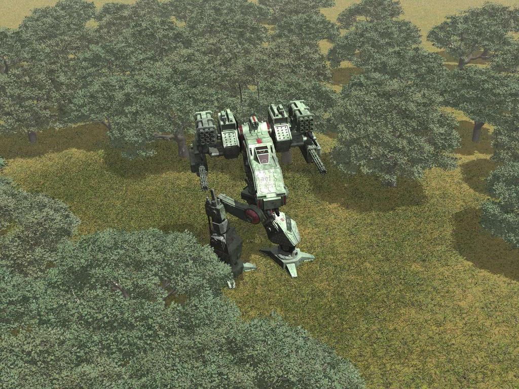 Forest Service - Version 2 by AceDarkfire