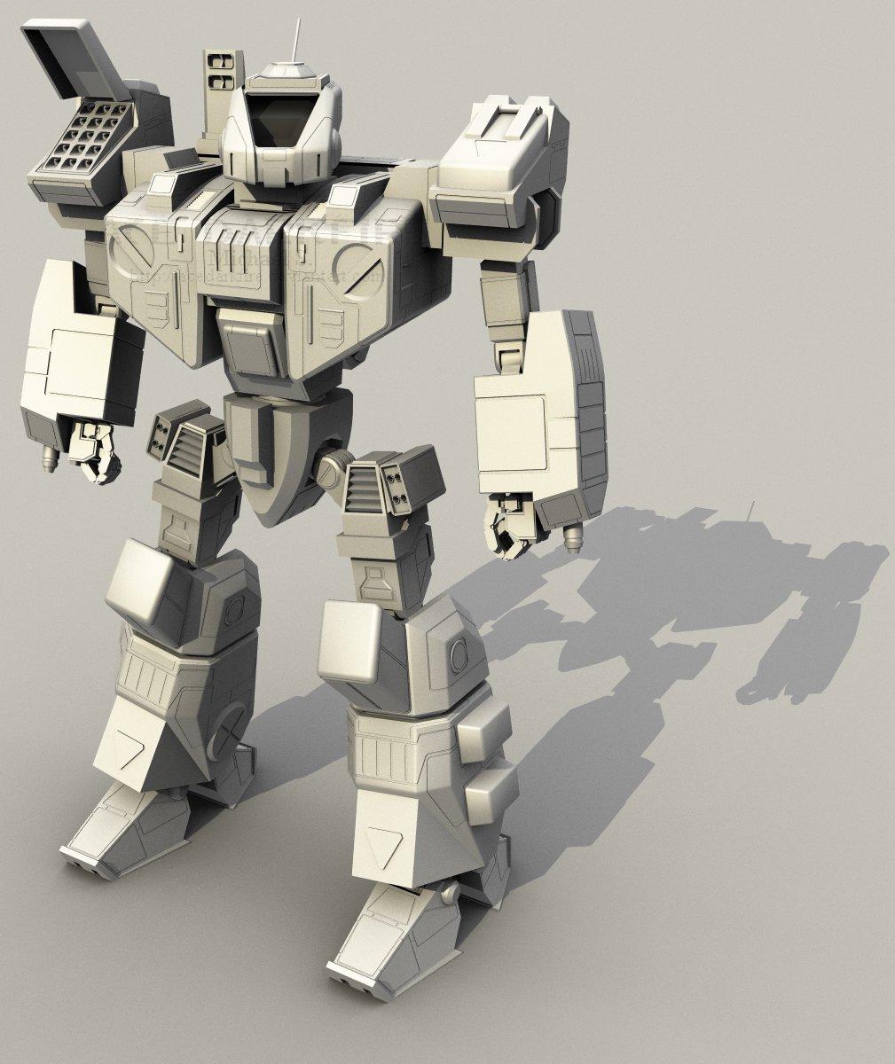 Crusader CRD-3D by AceDarkfire