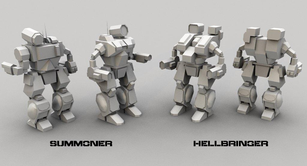 AT1BT: Hellbringer + Summoner by AceDarkfire