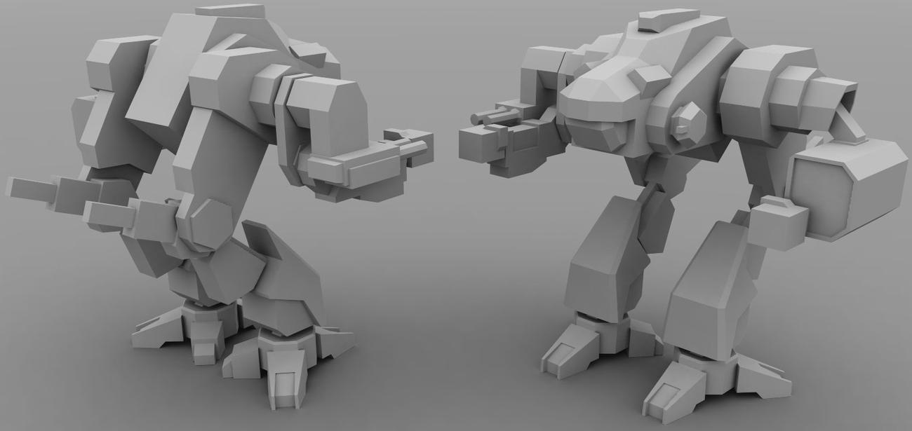 AT1:BT Lowpoly: Viper by AceDarkfire
