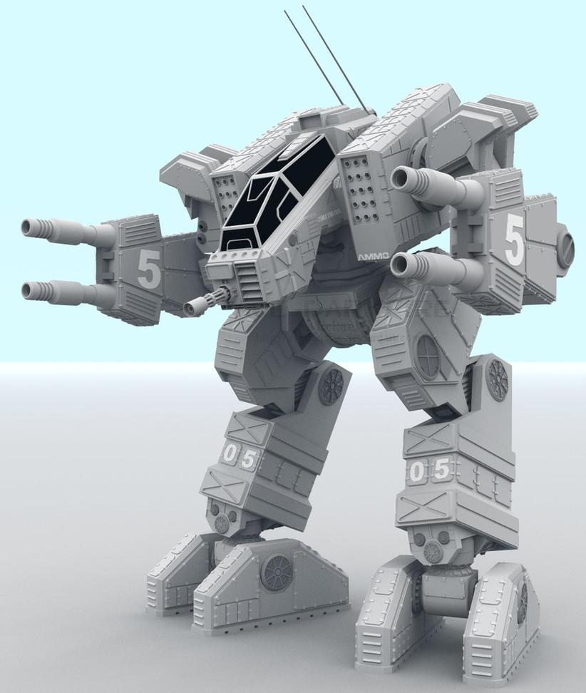 KMI-110A Kamui by AceDarkfire