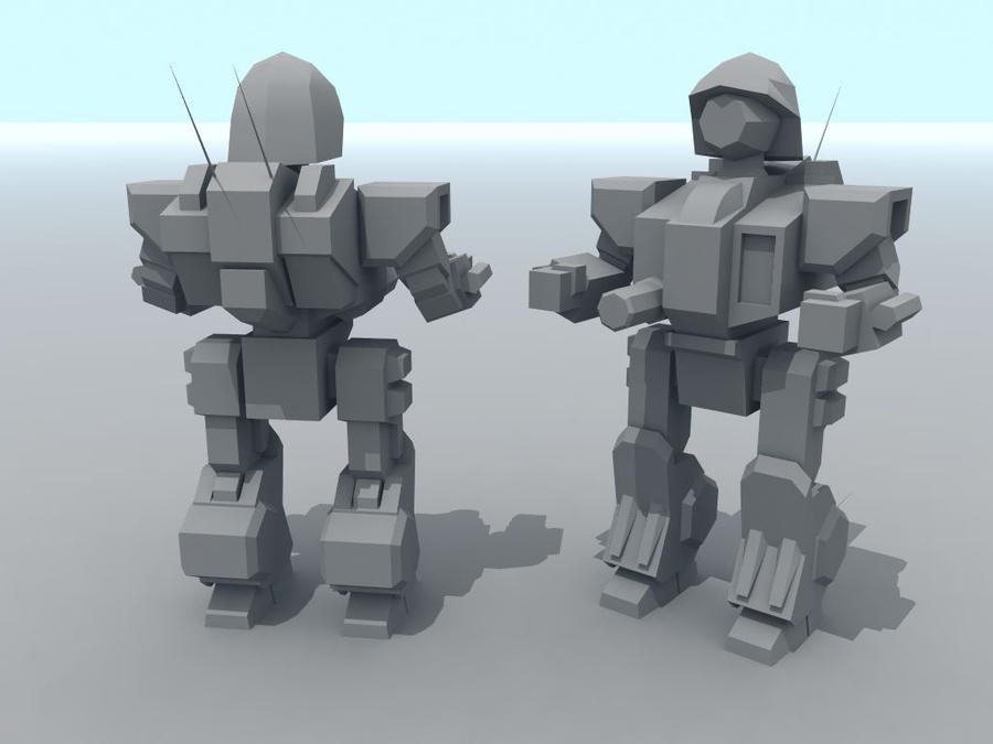 AT1:BT Lowpoly: Cyclops V2 by AceDarkfire