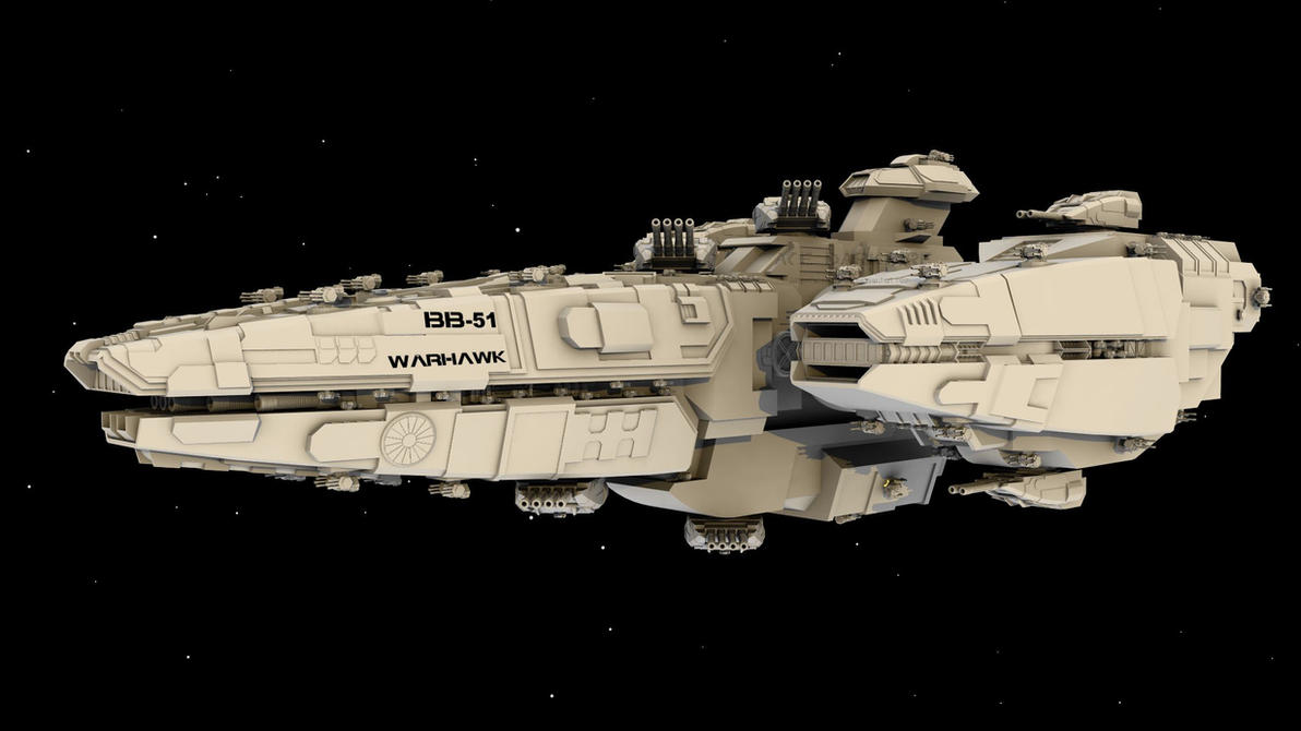WiP4: Warhawk BB by AceDarkfire