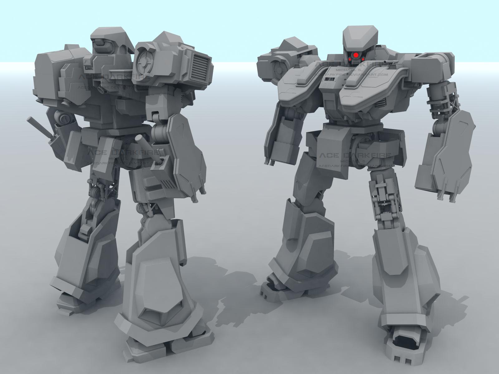 W.i.P: AML-600-X3 Kintaro by AceDarkfire
