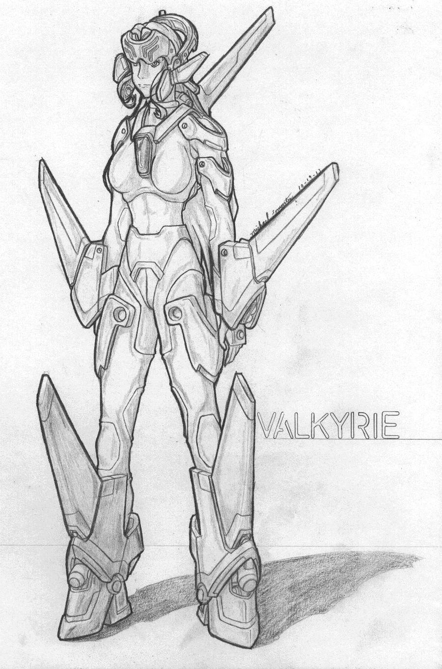 MekGirl: Valkyrie by AceDarkfire