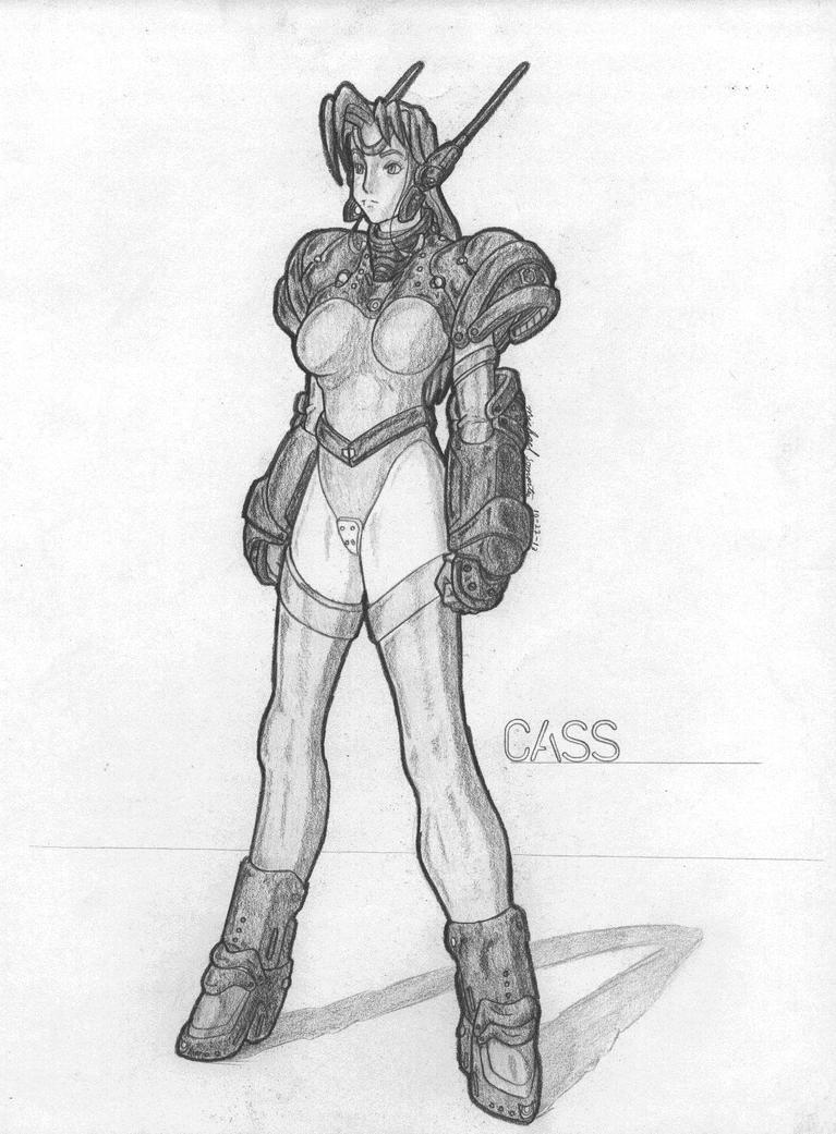 MekGirl: Cass by AceDarkfire