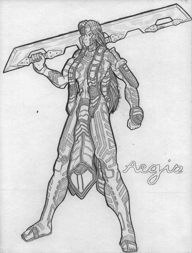 Aegis- Ver. 2 by AceDarkfire